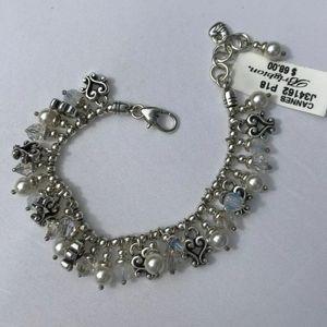 Brighton Bracelet pearl accents